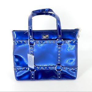 Beijo Women's Diaper Tote Bag in Royal Blue